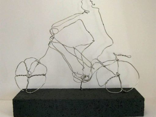 Bicycle Wire Scupture